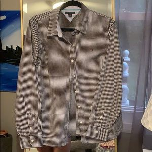 Tommy Hilfiger long sleeve women's button up
